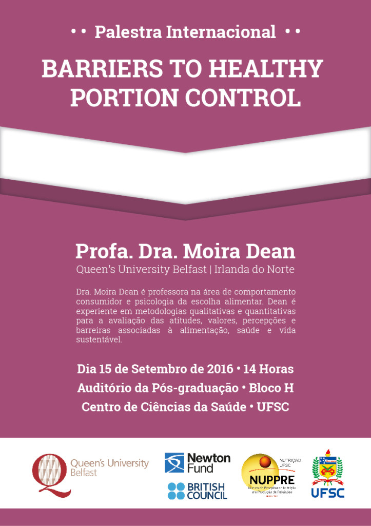Palestra - Barriers to Healthy Portion Control